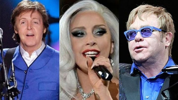 Concierto reúne a Lady Gaga, Paul McCartney, Stevie Wonder y Elton John