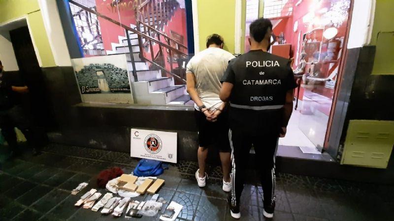 Cayó narcotraficante que distribuía drogas por medio de encomiendas