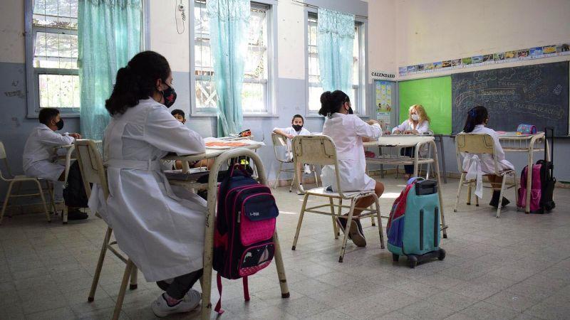 Luego de casi un año, volvieron  las clases presenciales a Catamarca